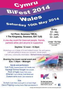 BiFest Wales 2014 - A4 poster