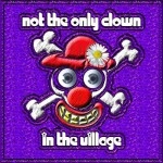 Not the only clown in the village logo