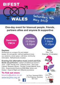 Bifest Wales 2015 - A4 English poster