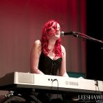 Catherine Elms performing at BiFest Wales 2015 evening live music event
