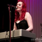 Catherine Elems performing at BiFest Wales 2015 evening live music event