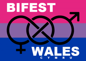 BiFest Wales single A6 leaflet - front side - logo and name